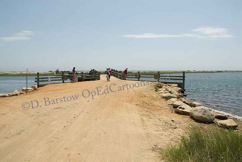 Chappaquiddick_bridge with guardrail now from Wiki