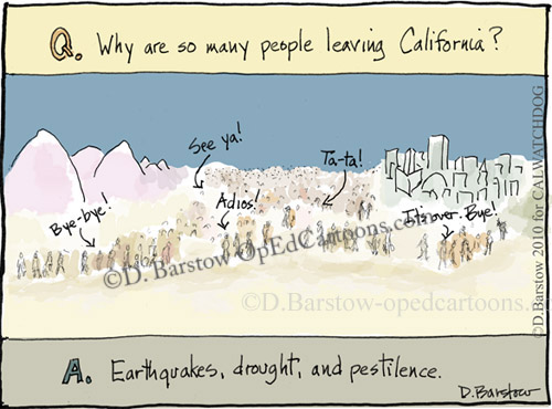 Mexicali California Earthquake cartoon