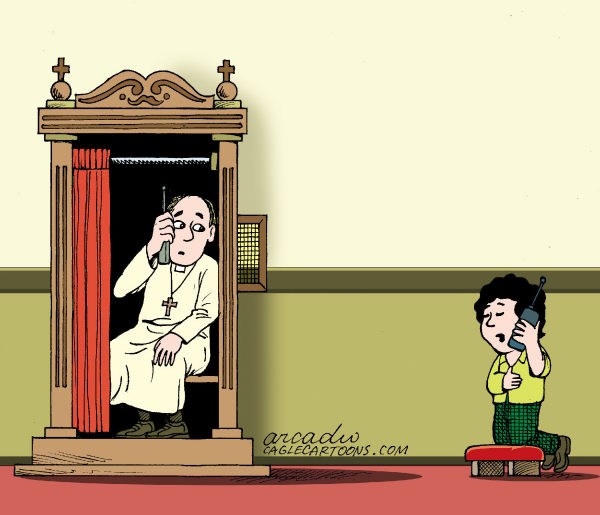 Arcadio Esquivel of Caglecartoons.com on priest molestation