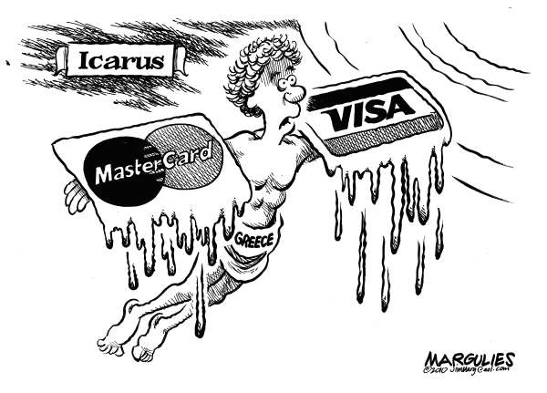 jimmy margulies cartoon on the greek economy