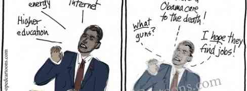 Obama's State of the Union Cartoon.