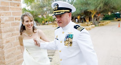 Giffords and Kelly Wedding picture