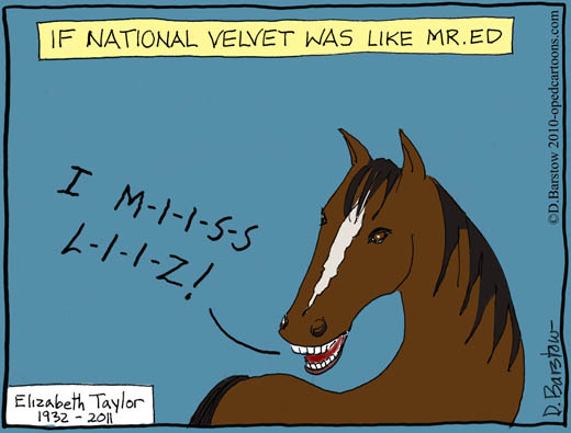 national velvet horse mourns elizabeth taylor's passing