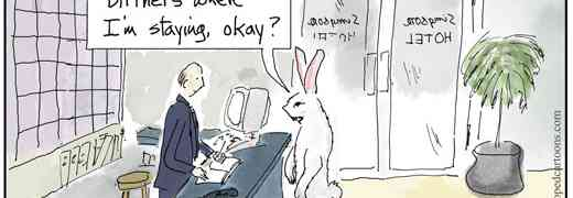 Easter cartoon on the birthers.