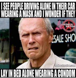 is wearing a mask like wearing a condom?
